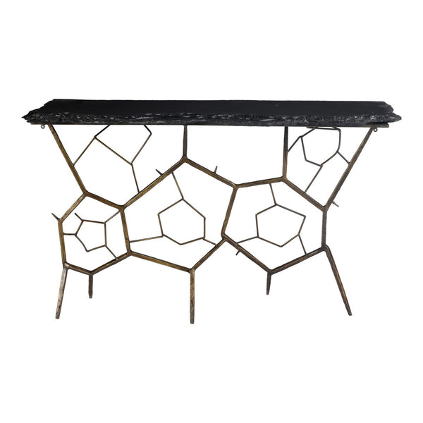 Moe's Home Collection Nate Slate Console Table - QJ-1010-25