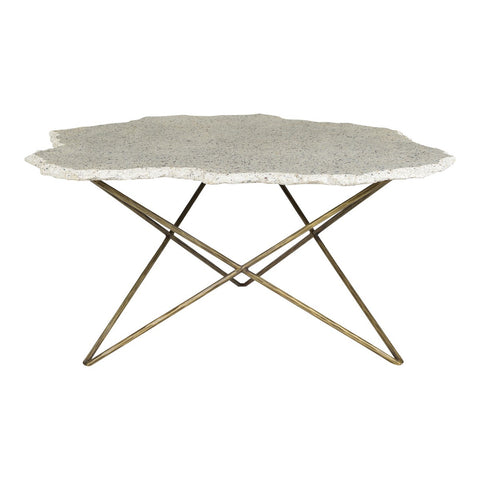 Moe's Home Collection Positano Terrazzo Coffee Table - QJ-1015-18