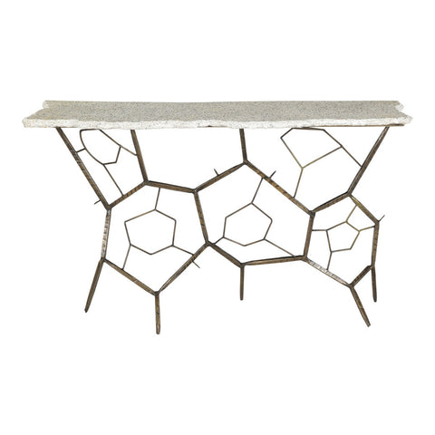 Moe's Home Collection Positano Terrazzo Console Table - QJ-1017-18