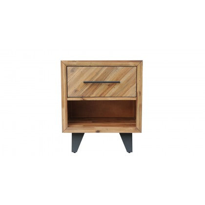 CDI Furniture Avalon Nightstand in Natural Finish