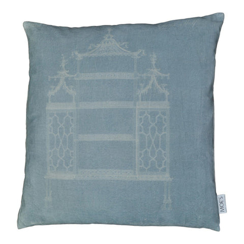 Moe's Home Collection Temple Velvet Feather Cushion 25X25 - TS-1028-37