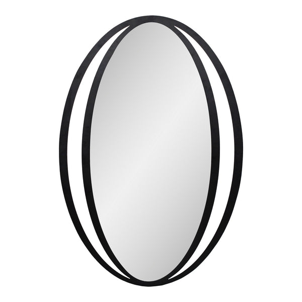 Moe's Home Collection Reflect Mirror Black - TY-1039-02