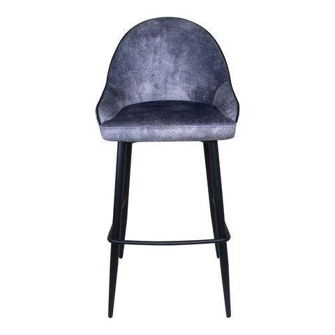 Moe's Home Collection Astbury Barstool Grey - UU-1014-15