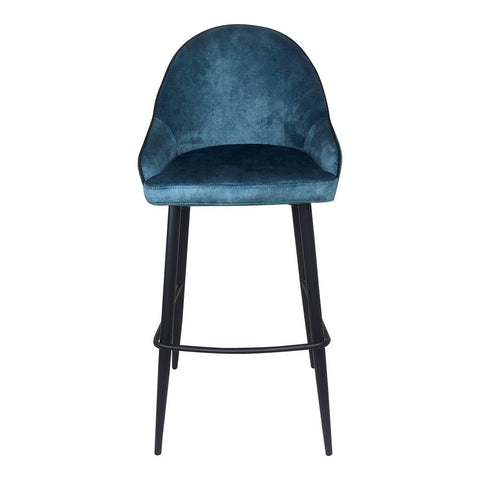 Moe's Home Collection Astbury Barstool Blue - UU-1014-27