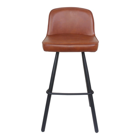 Moe's Home Collection Eisley Barstool Brown - UU-1017-03