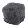 Moe's Home Collection Lamb Fur Pouf - XU-1009-07