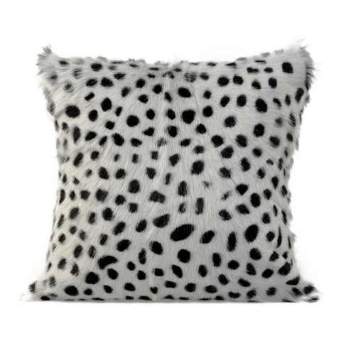 Moe's Home Collection Spotted Goat Fur Pillow - XU-1017-15