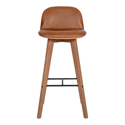 Moe's Home Collection Napoli Leather Barstool - YC-1022-40