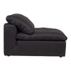 Moe's Home Collection Clay Leather Slipper Chair - YJ-1005-02