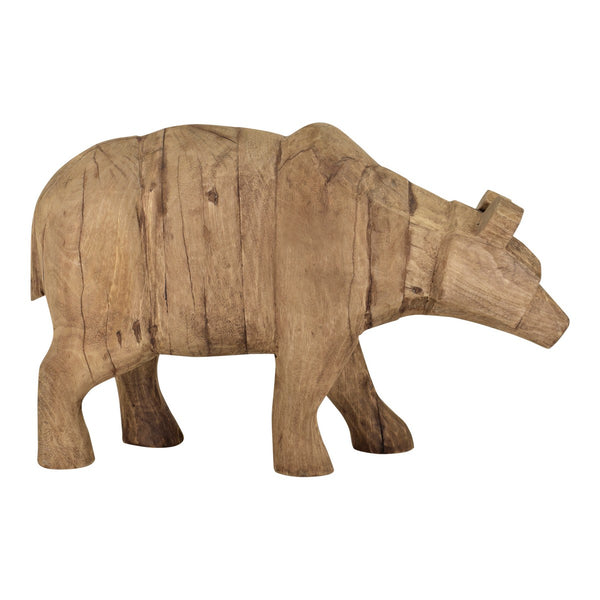 Moe's Home Collection Wooden Grizzly Bear - YZ-1004-24