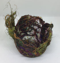 Tiny Sari Silk Thread Bowl