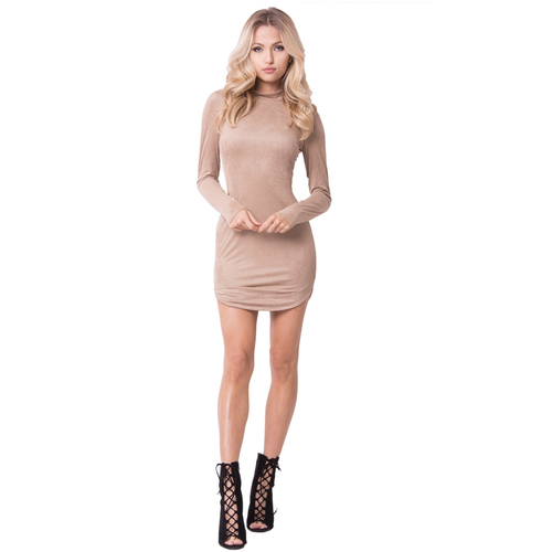 Suede MJ Mini Dresses