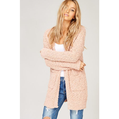 Fall Cardigan- Blush in stock 11/16 preorder now!