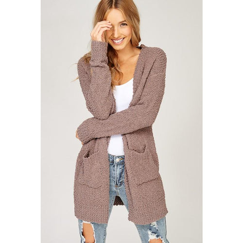 Fall Cardigan- Mocha in stock 11/16 preorder now!