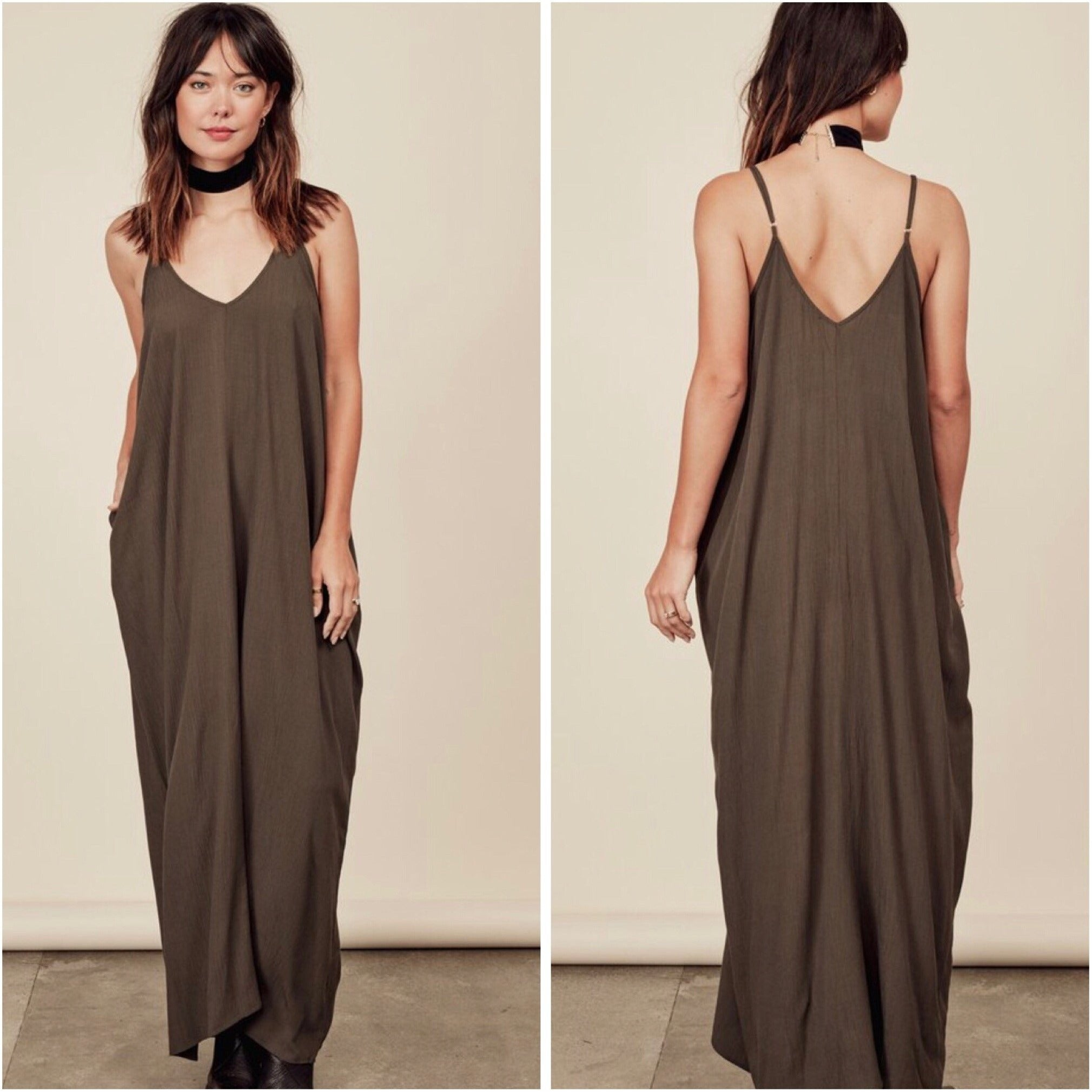 Black Cocoon Maxi Dress