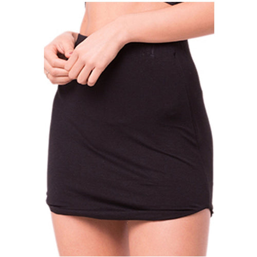 Double Layered Solid Mini Skirt-Skirt-Savvy Chic Apparel-Savvy Chic Apparel