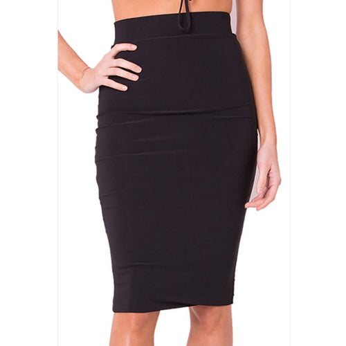Midi Skirt 2 Colors-Skirt-Lux LA-Savvy Chic Apparel