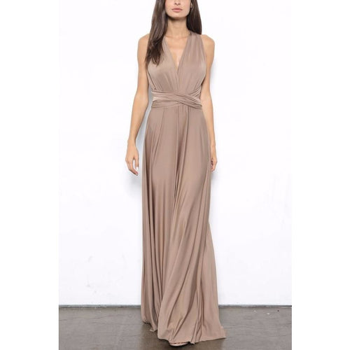 Wear Your Way Maxi Dress-Savvy Chic Apparel-Savvy Chic Apparel