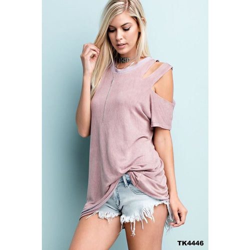 Two Tone Terry Top