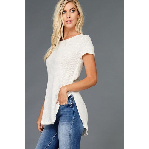 Ivory thermal Top
