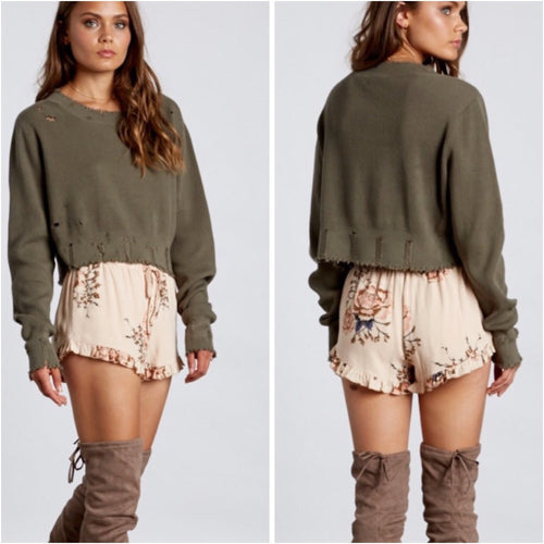 Cozy Corner Shorts-Shorts-Cotton Candy-Savvy Chic Apparel