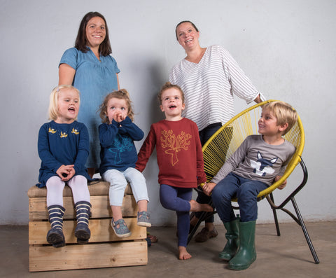Cooee Kids Founders - making Ethical Cotton kids clothes, sustainably  in Uganda, CmiA
