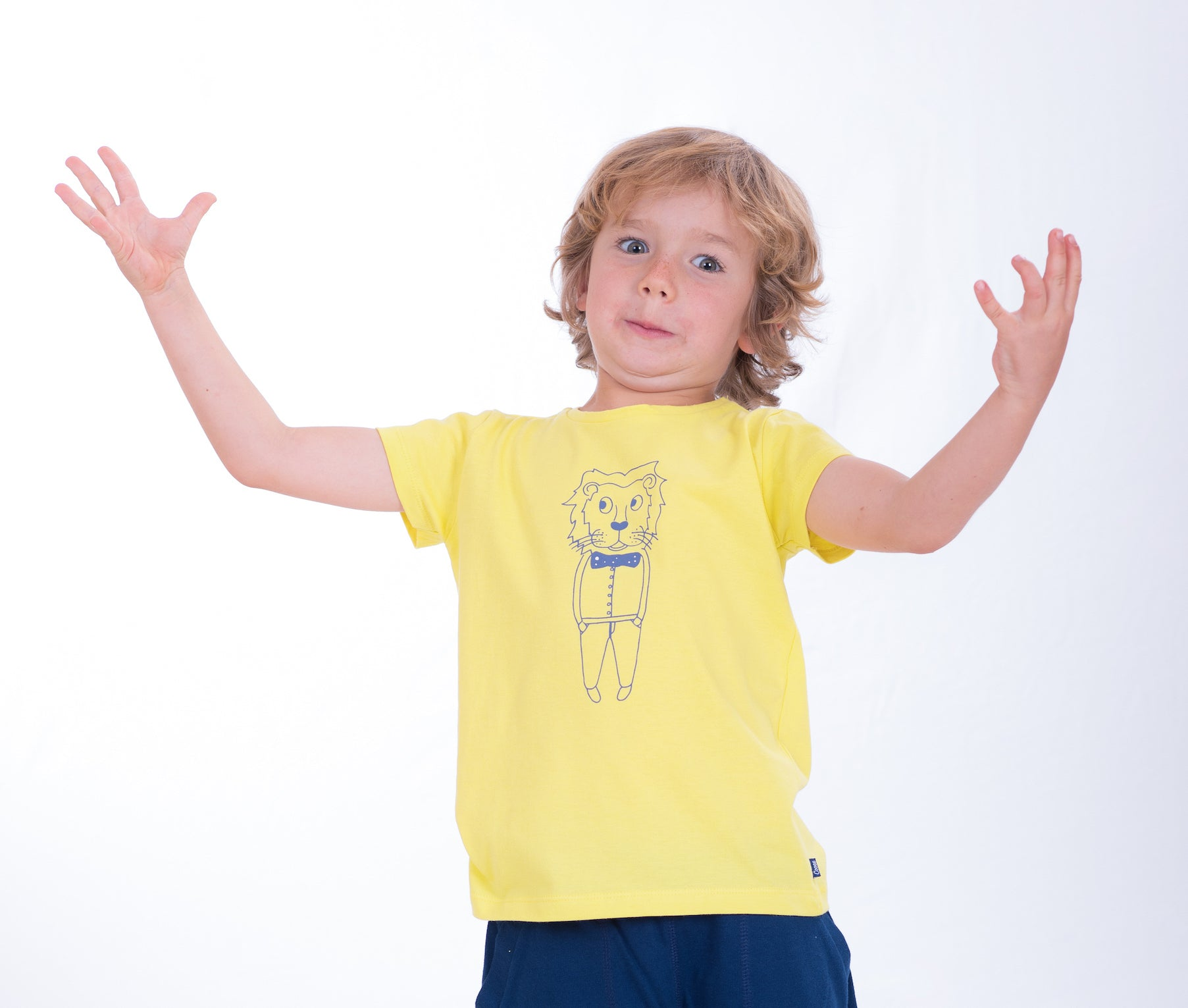 kids cotton t-shirt ethically made