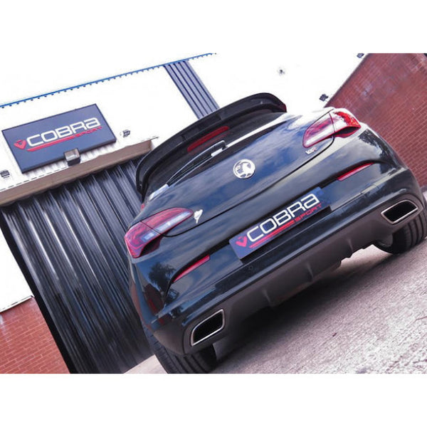 VX25d Cobra Sport Vauxhall Astra J VXR Turbo Back Sports Exhaust System