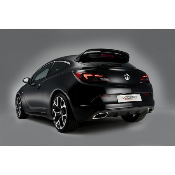 VX25a Cobra Sport Vauxhall Astra J VXR Turbo Back Sports Exhaust System