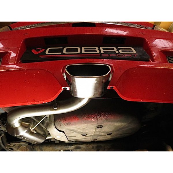VX72 Cobra Sport Vauxhall Astra H VXR Cat Back System (Resonated)