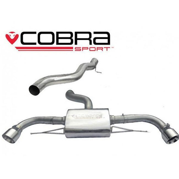 AU24 Cobra Sport Audi TT Quattro Cat Back Sports Exhaust