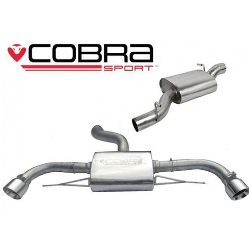 AU25 Cobra Sport Audi TT Quattro Cat Back Sports Exhaust