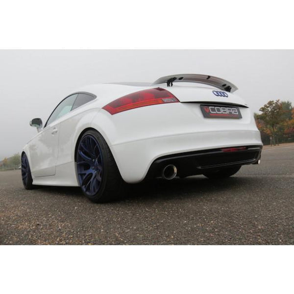 AU26b Cobra Sport Audi TT Quattro Turbo Back Sports Exhaust