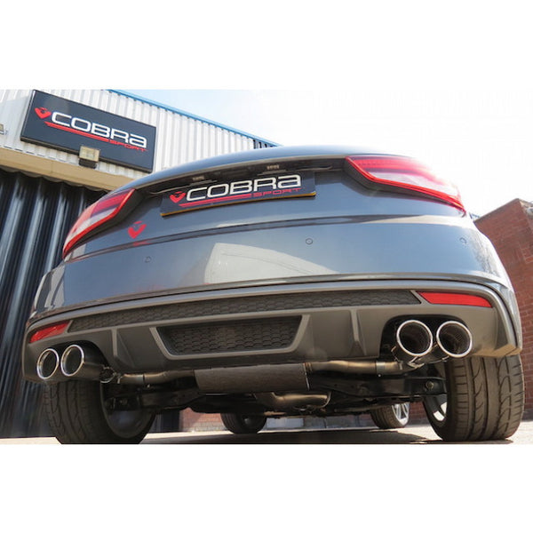 AU63 Cobra Sport Audi S1 Cat Back Sports Exhaust