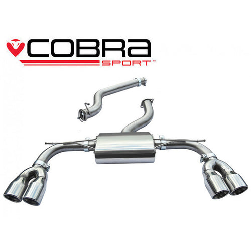 AU52 Cobra Sport Audi S3 (8V) (3 door) Cat Back Sports Exhaust