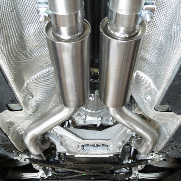 AU57 Cobra Sport Audi S5 3.0 TFSI Non Resonated Cat Back Exhaust System