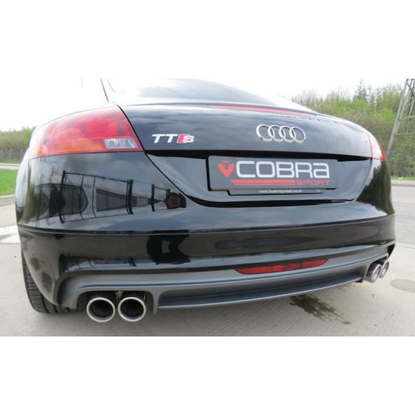 AU34b Cobra Sport Audi TTS Turbo Back Package (with Sports Cat & Non-Resonated)