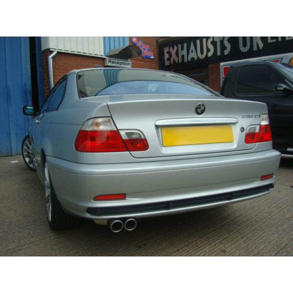 BM24 Cobra Sport BMW 323 (E46) Sports Exhaust Rear Box