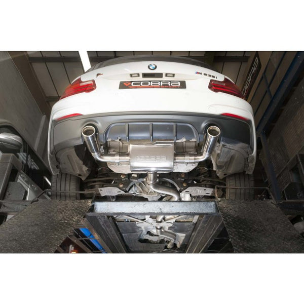BM83 Cobra Sport  BMW M235i (F22) Cat Back System (Non Resonated)