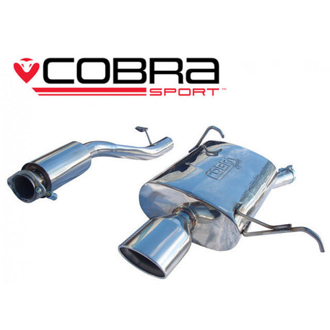 BM17 Cobra Sport BMW Z3 1.9 (M44) Cat Back Sports Exhaust