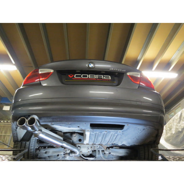 BM66 Cobra Sport BMW 318D/320D Diesel (E90&E91) Twin Exit Sports Exhaust Rear Box