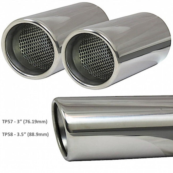 BM60 Cobra Sport BMW M3 (E92) Sports Exhaust Rear Boxes