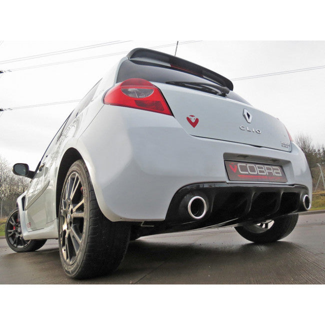 Renault Clio 200: Renault Clio RS 200 Cat Back Sports Exhaust