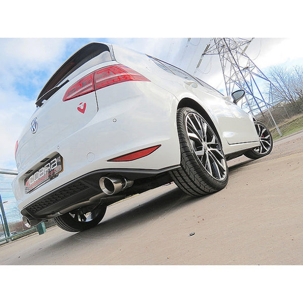 VW30 Cobra Sport VW Golf GTD Mk7 Cat Back Sports Exhaust