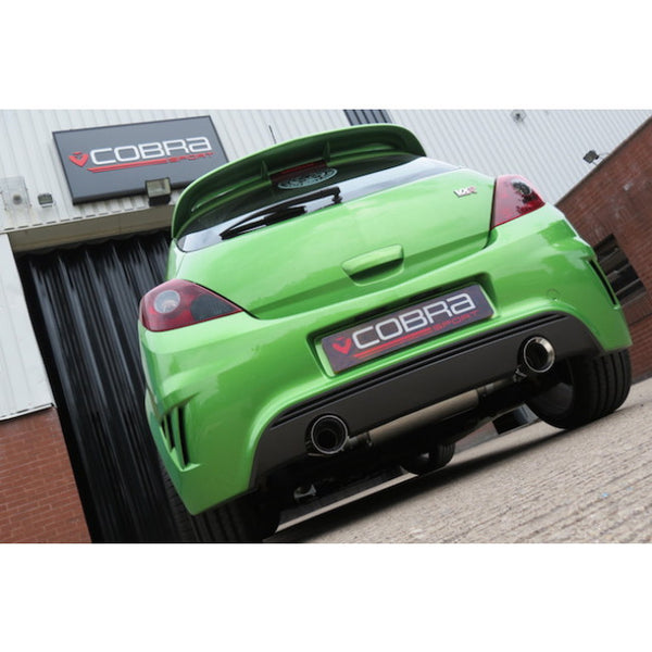 VZ12c Cobra Sport Vauxhall Corsa D VXR Nurburgring Turbo Back Sports Exhaust System