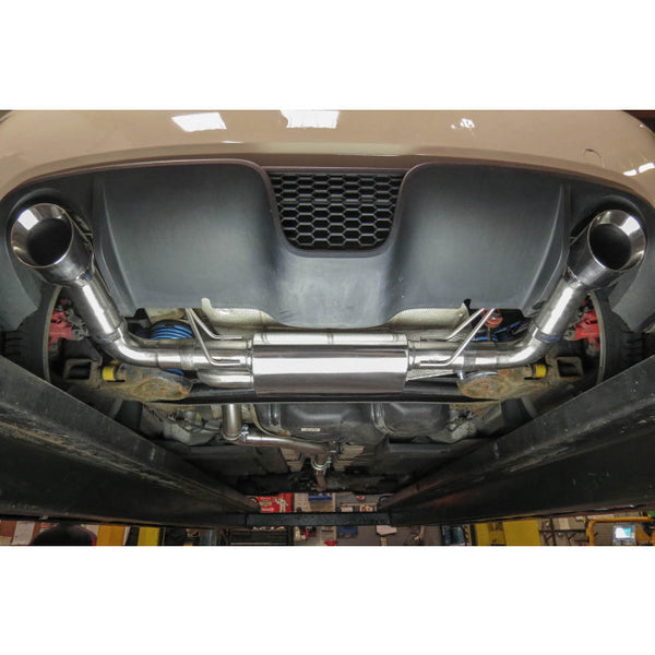 FT10 Cobra Sport Fiat Abarth 500 1.4 Turbo Resonated Cat Back Sports Exhaust