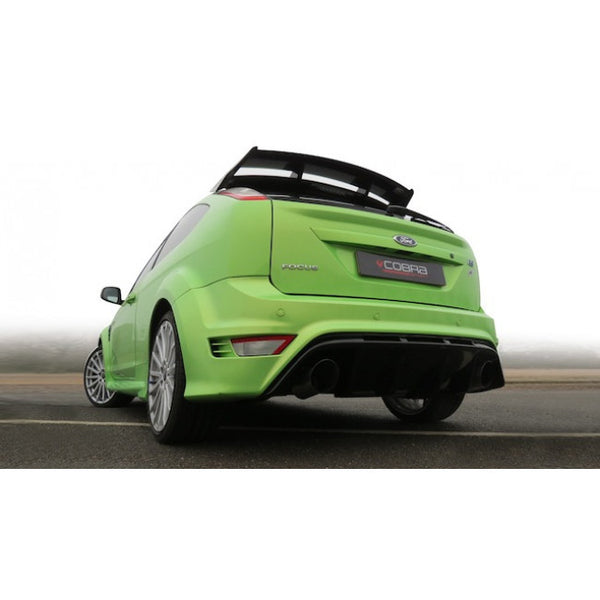 FD55 Cobra Sport Ford Focus RS  Cat Back Sports Exhaust