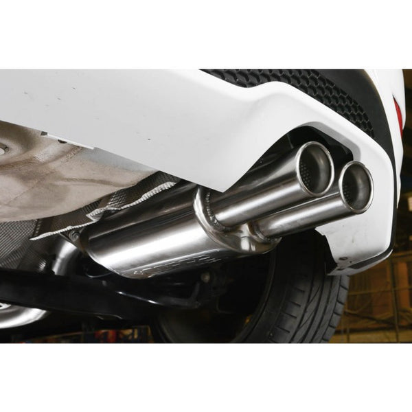 "FD81 Cobra Sport Ford Fiesta MK7 ST 180 3"" Cat Back System (Non-resonated) Twin Tailpipe"
