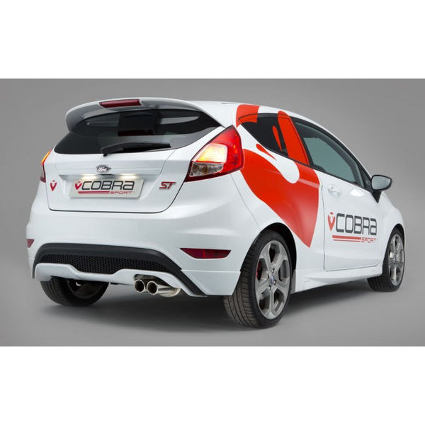 FD50 Cobra Sport Fiesta ST 180 Cat Back Sports Exhaust
