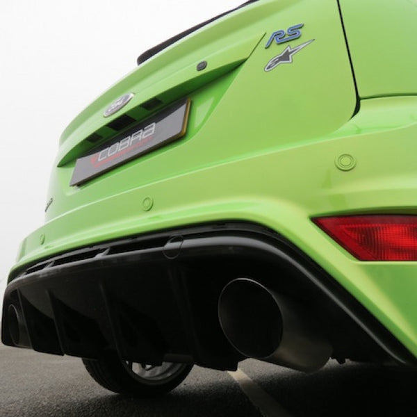 FD56 Cobra Sport Ford  Focus RS  Cat Back Sports Exhaust